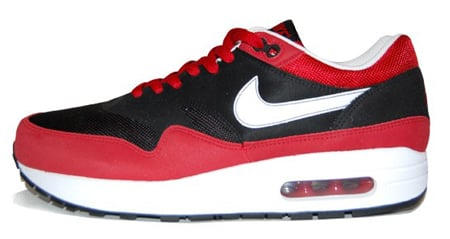 air max 1 black red and white