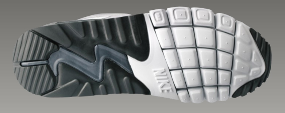 Nike Air Max 90 Flywire TZ - Medium Grey / Black