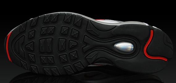 Nike Air Max 97 - Metallic Silver / Varsity Red / Neutral Grey