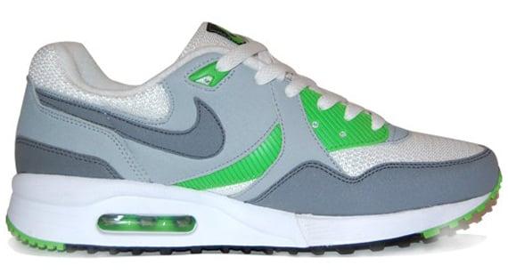 Nike Air Max Light - White / Flint Grey - Green