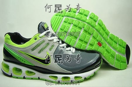 cheap for discount 99564 cb86f Nike Air Max Tailwind 2010 - Grey / Neon | SneakerFiles