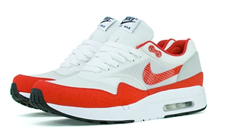Nike Air Maxim 1 - White / Varsity Red - Now Available