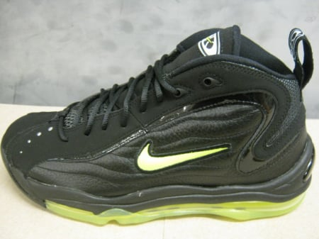 10bb9759a0 Nike Air Total Max Uptempo - Black / Volt - Now Available | SneakerFiles