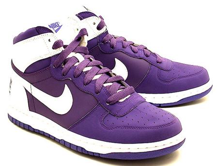 Nike Big Nike - Pure Purple / White