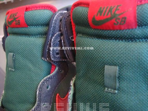 Nike Dunk High Pro SB Gucci Sample - Deep Forest / Paprika