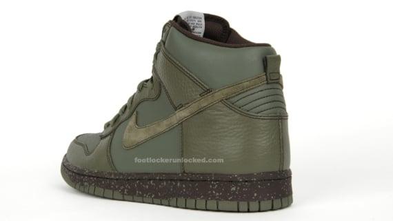 Nike Dunk High - Urban Haze / Baroque Brown