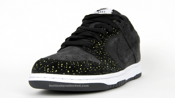 Nike Dunk Low CL - Anthracite / Black / Volt Yellow