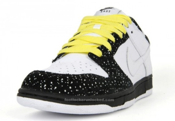 Nike Holiday 2009 Dunk Low CL ND White/Black Speckle