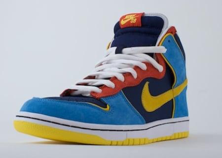Nike SB Dunk High - Mr. Pacman