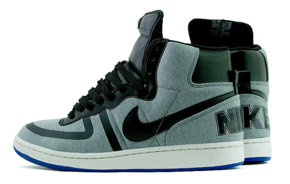 Nike Terminator High - Grey / Black - Blue