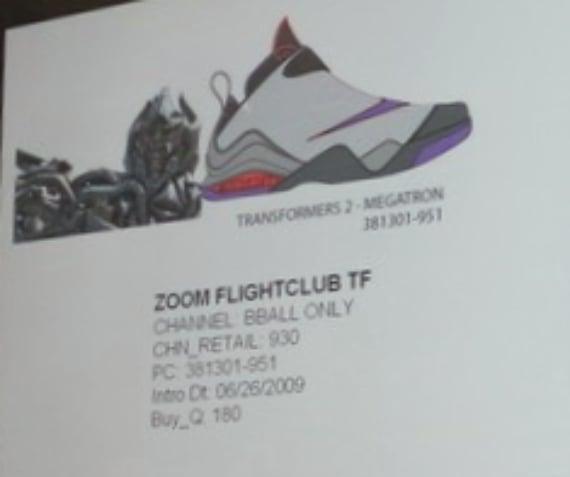 Nike Transformers II Pack - Zoom Flight Club & Zoom Sharkalaid