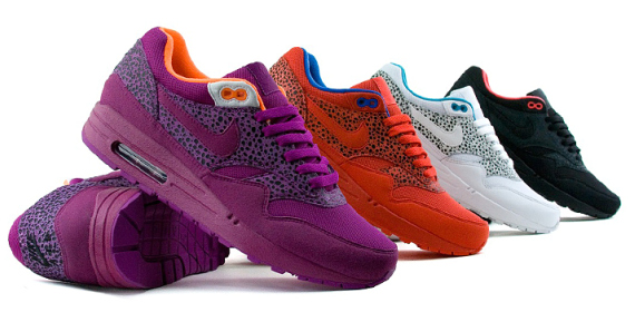 Nike Womens Air Max 1 Safari Pack - Now Available