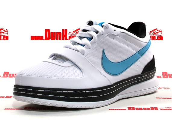 Nike Zoom LeBron 6 (VI) Low - White / Baltic Blue - Black