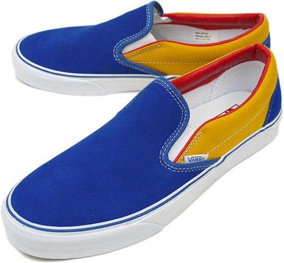 Era De Furgonetas Amarillo Azul Rojo Tgh1pU17