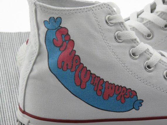Parra x Converse Chuck Taylor High - Simply The Wurst