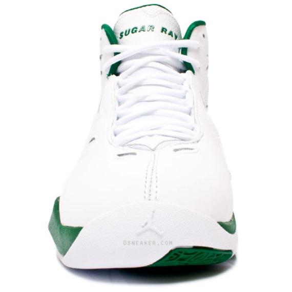 Jordan Schoolin' White/Green Ray Allen PE