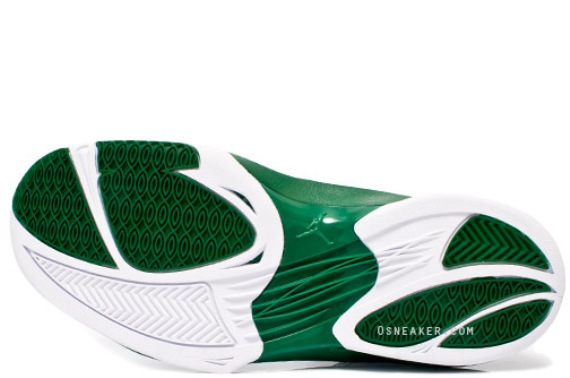 Jordan Schoolin' White/Green Ray Allen PE