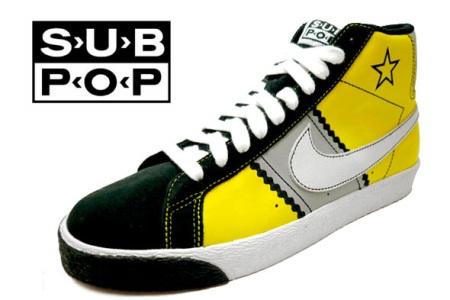 Nike SB Blazer x Sub Pop