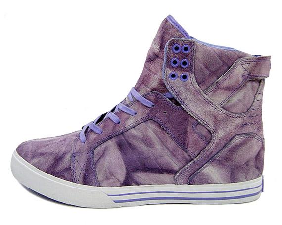 Supra Skytop - Purple Tie-Dye
