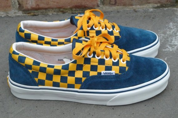 f7cc073a3d55d1 Buy blue and yellow checkered vans