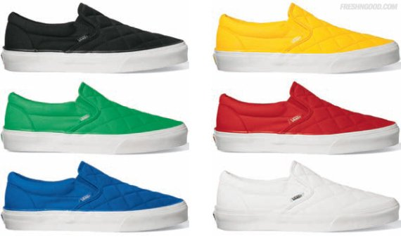 Vans Slip-On Quilted Pack - Fall 2009
