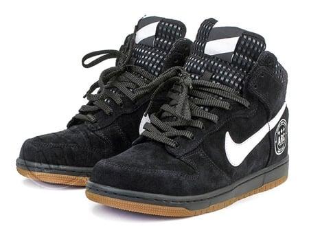 """A.R.C. x Nike Dunk High """"Black, White, Gum & Bang!"""" Release 1"""