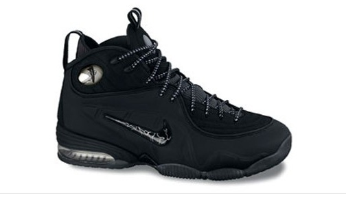 Black/Silver Nike Penny Half Cent (1/2