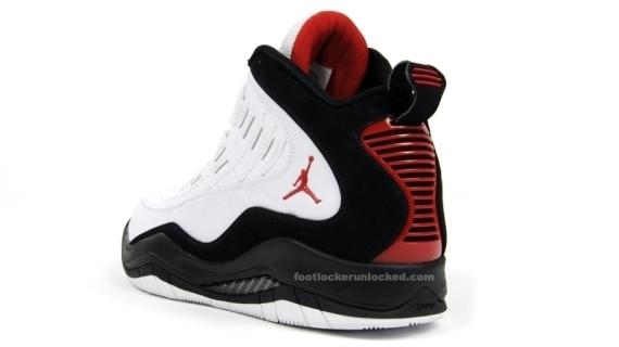 Air Jordan Hallowed Ground - White / Black - Red