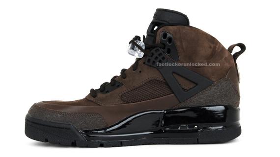 Jordan Spizike Boot - Dark Cinder / Black