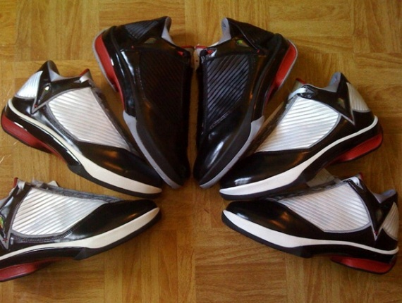 Air Jordan 2009 Unreleased Samples