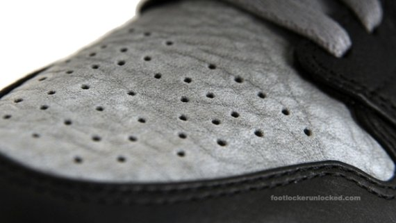 Air Jordan 1 (1) Black/Stealth/Grey-White