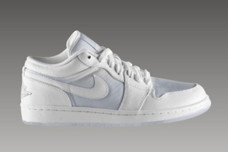 Air Jordan I (1) Low Phat White/Ostrich Available Now