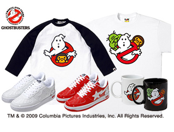 Ghostbusters x Bape Collection Summer 2009