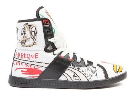"Reebok Fall 2009 Top Down ""Basquiat"" Pack"