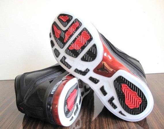 Jordan 16.5 (XV1.5) Black Red Detailed Look
