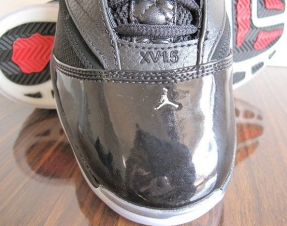 Jordan 16.5 (XV1.5) Black Red Detailed Look