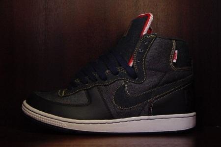 Nike Terminator Hi Premium Selvage Denim - Detailed Look