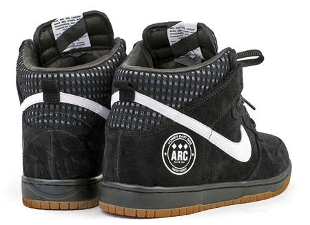 """A.R.C. x Nike Dunk High """"Black, White, Gum & Bang!"""" Release 2"""