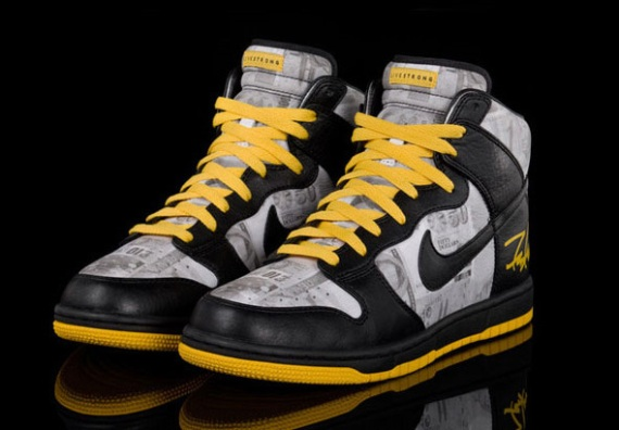 Nike Dunk Hi x FUTURA (FLOM) x LIVESTRONG Release Info