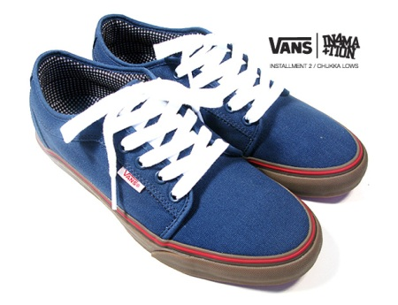 In4mation x Vans Chukka Low