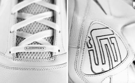 Nike Air Max LeBron VII (7) - White Sample
