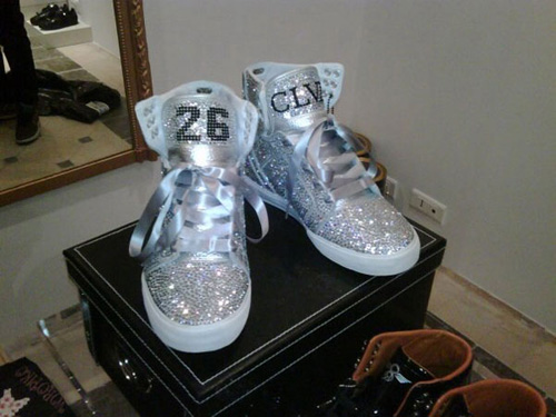 Lil Wayne Supra Skytop Custom - CLVII