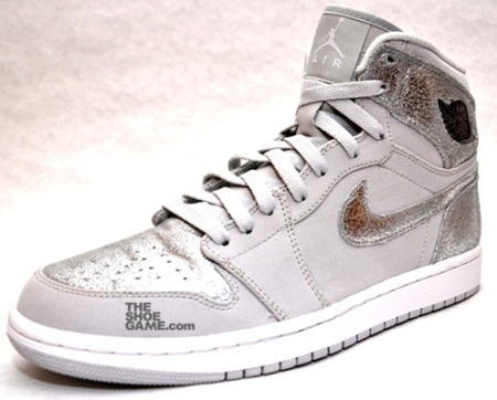 Air Jordan I (1) High - Metallic Silver
