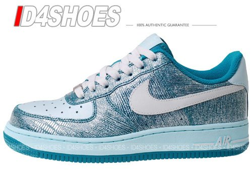 Nike Air Force 1 Low Womens Radiant Emerald / Swan - Vaporize