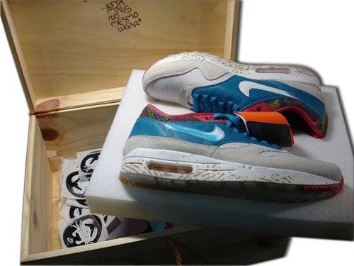 Nike Air Max 1 Lanceiro - Special Pack  db4c36a64