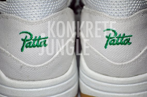 reputable site fcf8b 20331 Patta x Nike Air Max 1 Sample - White   Black   Lucky Green