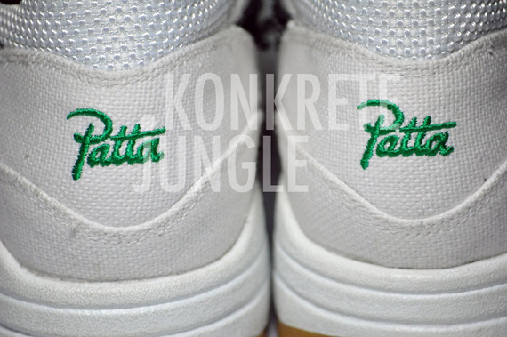 Green 1 Lucky Patta Max Nike X White Black Air Sample mvN0w8n
