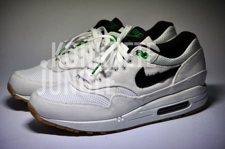 Patta x Nike Air Max 1 Sample - White / Black / Lucky Green