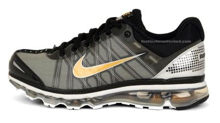 Nike Air Max 2009 - Black / Metallic Gold / Grey