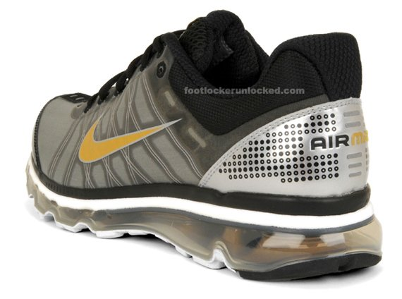Nike Air Max 2009 - Black / Metallic Gold / Grey